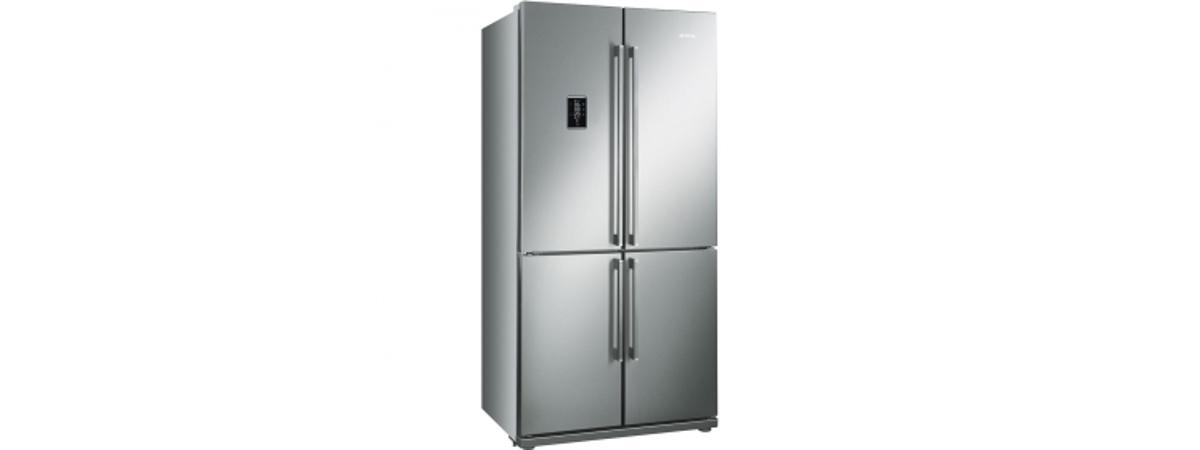 FQ60X2PE amerikaner køleskab fra SMEG. Køb til kun 12.990,00,-