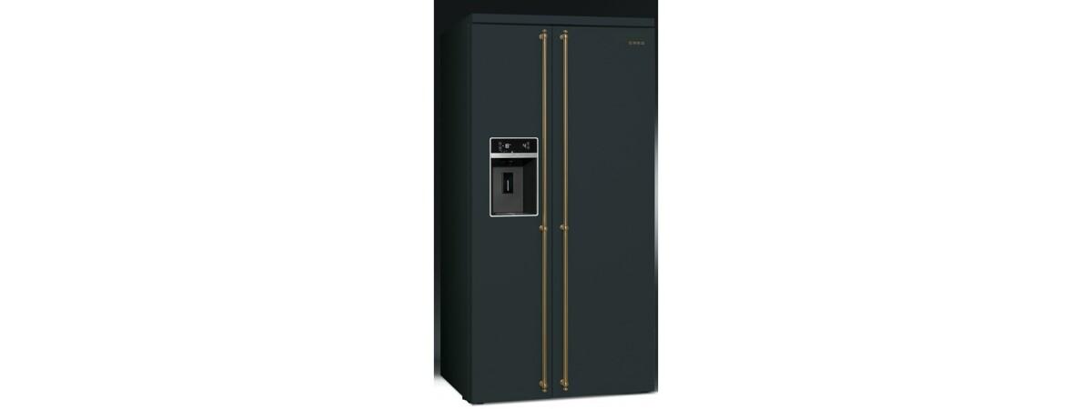 SBS8004AO amerikaner køleskab fra SMEG. Køb til kun 24.499,00,-