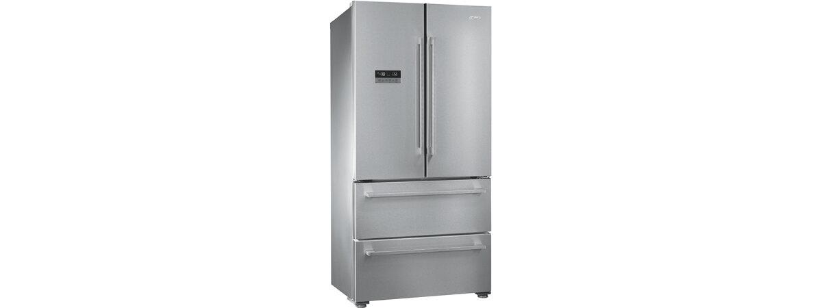 FQ55FX2PE amerikaner køleskab fra SMEG. Køb til kun 13.377,00,-