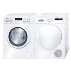 Bosch WAK28267SN+ WTH83007SN Frontmatad tvättmaskin