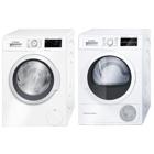 Bosch WAT286I8SN + WTW854L8SN Frontmatad tvättmaskin
