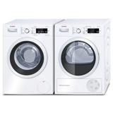 Bosch WAW32568SN+WTW87568SN Frontbetjent vaskemaskine