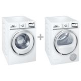 Siemens WM14Y748DN + Frontbetjent vaskemaskine