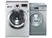 Kombinerad tvätt/tork