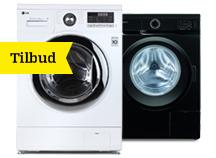 Vaskemaskiner på tilbud