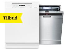 Opvaskemaskiner på tilbud