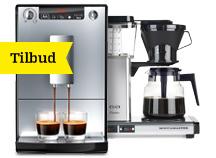 Kaffe og espresso på tilbud