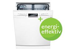 Energivenlige opvaskemaskiner