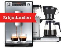 Kaffe- och espressomaskiner