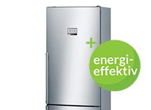 Energisnåla kombinerade kyl-frysar
