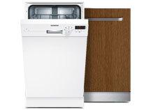 Smale oppvaskmaskiner