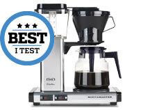Best i test kaffemaskin