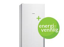 Energivennlige kjøleskap