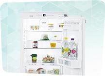 køleskab 130 cm