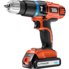 Black & Decker BDK188KB-QW Borrmaskin