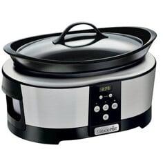 Crock-Pot 5,7 L Timer, Rostfri Slow cooker
