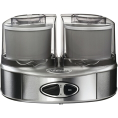 Cuisinart Dual Ice-cream maker Glassmaskin