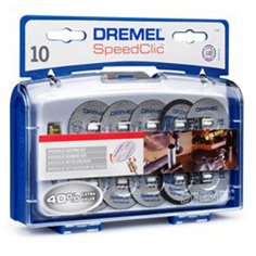 Dremel SpeedClic set