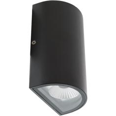 HQ LED-Vägglampa Oval Utomhusbelysning