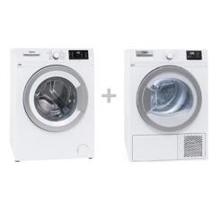 Cylinda FT5074 + TK5170 Frontmatad tvättmaskin