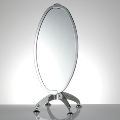 Dulton Face mirror black