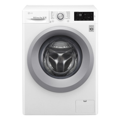 LG F4J5QN4W Frontmatet vaskemaskin