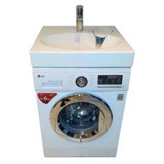 LG FH296NDA3 med håndvask og Frontbetjent vaskemaskine