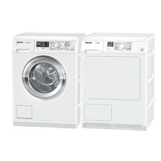 Miele WDA111NDS + TDA150CNDS Frontmatad tvättmaskin