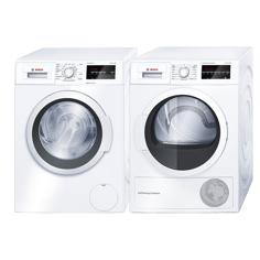 Bosch WAT283L8SN+WTW854L8SN Frontmatad tvättmaskin