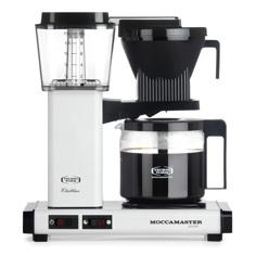 Moccamaster KBG962 Pol. White Kaffemaskine