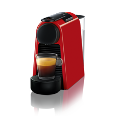Nespresso Essenza Mini Röd Kapselmaskin