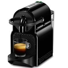 Nespresso Inissia Black Kapselmaskin