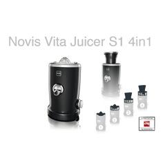 Novis Vita Juicer S1 Black Råsaftcentrifug
