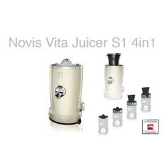 Novis Vita Juicer S1 Creme Råsaftcentrifug