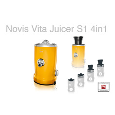 Novis Vita Juicer S1 Yellow Råsaftcentrifug