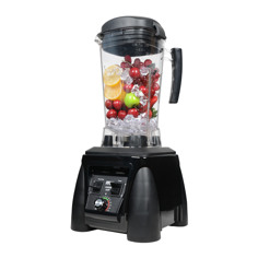 Raw Pro X6000 Black Deluxe Blender