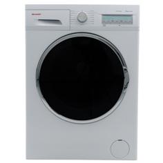 Sharp ES-FC8144W3 Frontbetjent vaskemaskine