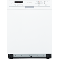 Sharp QW-GT24U463W-NR Underbygningsopvaskemaskine