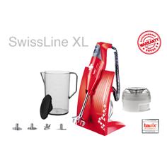 Bamix Swissline XL Rød Stavmikser