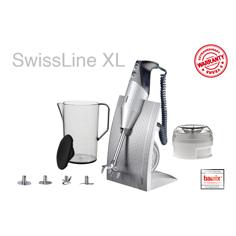 Bamix Swissline Silver Stavmixer