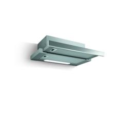 Eico Tel 60 SS stål/grå Udtræksemhætte