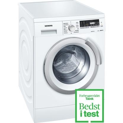 [Varenr] frontbetjente vaskemaskiner fra Siemens til 4.999,00 kr.