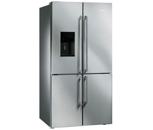 FQ75XPED amerikaner køleskab fra SMEG. Køb til blot 20.595,00,-