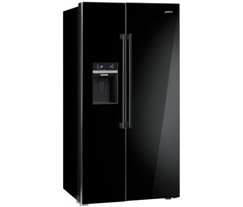 SBS63NED amerikaner køleskab fra SMEG. Køb til kun 28.245,00,-