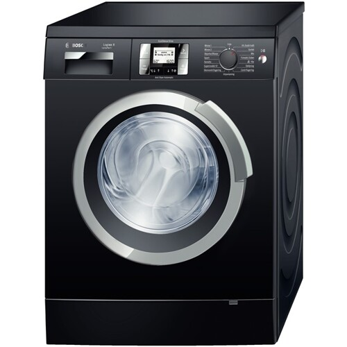 sort vaskemaskine
