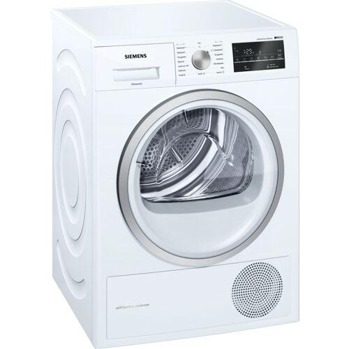 tørretumbler ovenpå vaskemaskine