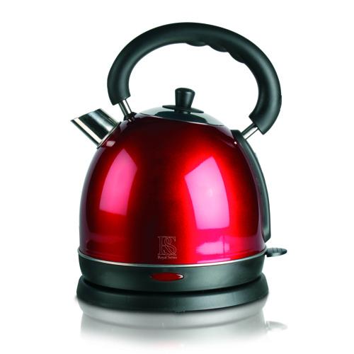 Smarte ressurser Royal Dome rød 1,8 liter vannkoker - Gratis levering og bredt DO-39