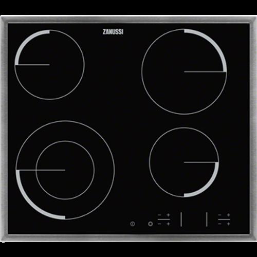 zanussi zev6341xba kogeplade komfur til bedste priser 2017 test og tips hvidevaremagasinet. Black Bedroom Furniture Sets. Home Design Ideas