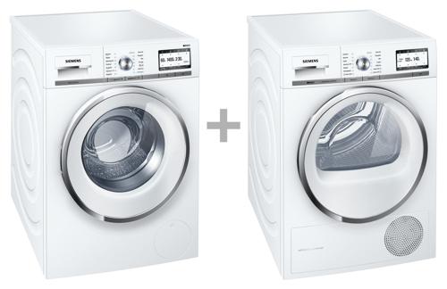 Siemens WM14Y748DN + wt47y849dn Vaskemaskine til bedste priser 2017 test og tips ...