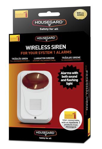 Housegard WS400 Trådlös siren